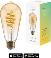 Hombli Smart Filament Bulb E27 ST64  – Amber –  Edison  – Warm wit licht
