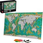 LEGO ART Wereldkaart - 31203