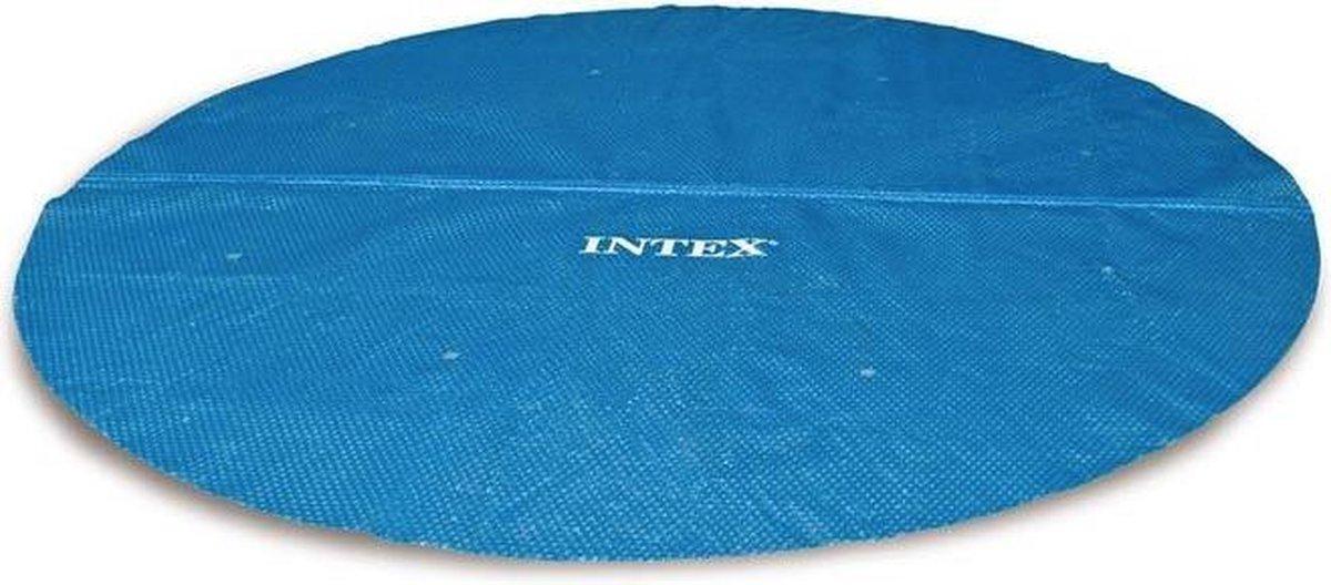 Intex Solar Cover - Intex Easy Set Zwembad Afdekzeil - Diameter 366 cm - Rond Frame