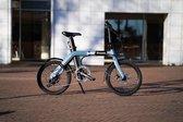 Vroom X - Elektrische vouwfiets - Opvouwbare e-bike - Space Black