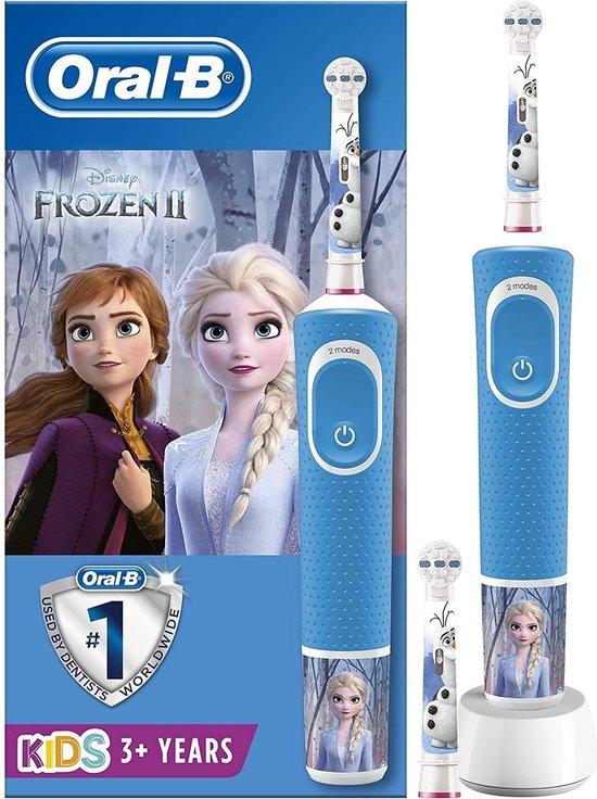 Oral-B Kids Frozen – Elektrische tandenborstel kind + Reis-etui in geschenkverpakking