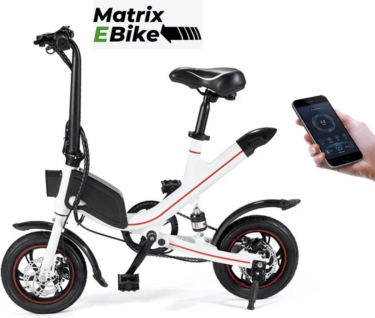 OUXI  Elektrische Fiets - E BIKE - Fiets - City Bike - Stad Fiets - Bike - Fietsen - eBike - Wit