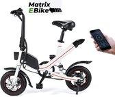 OUXI™ Elektrische Fiets - E BIKE - Fiets - City Bike - Stad Fiets - Bike - Fietsen - eBike - Wit