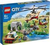 LEGO City Wildlife Rescue Operatie - 60302 - Rood   Bruin