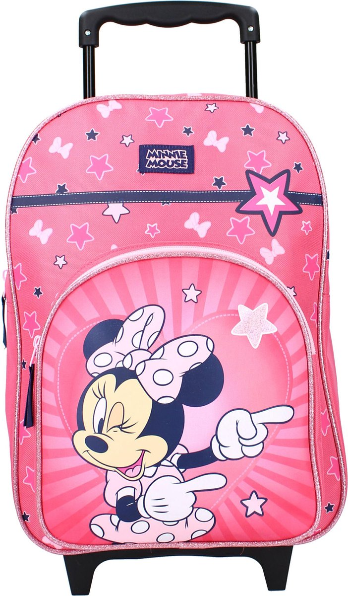 Minnie & Mickey Mouse - Rugzaktrolley - Trolley rugzak - Minnie Mouse - Choose To Shine - 17 L