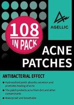 Agellic Pimple Patch - Hydrocolloïd Materiaal - 2 Maten - 108 stuks