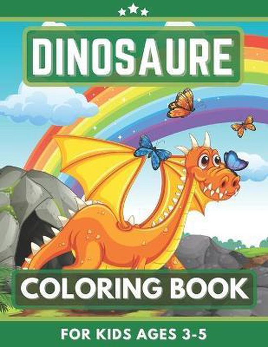 Dinosaure Coloring Book For Kids Ages 3-5