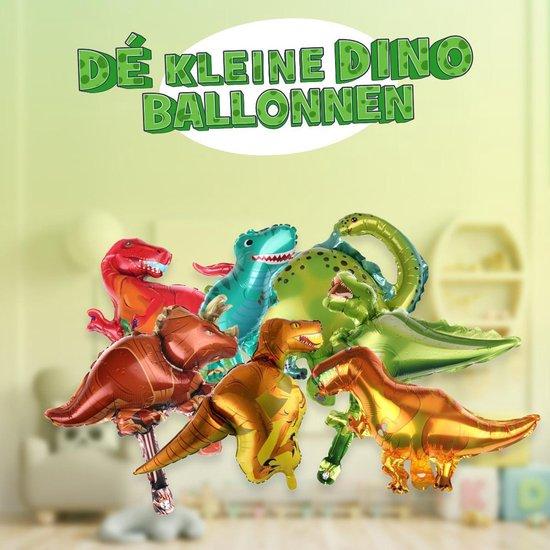 7 Dinosaurus ballonnen  ! | 7 verschillende mini dino