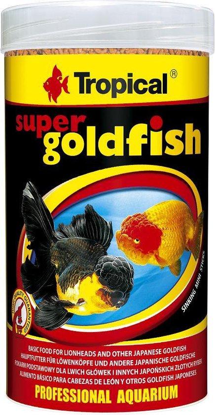 Tropical Super Goldfish Mini Sticks 250ml | Goudvis voer | Sluierstaartvoer