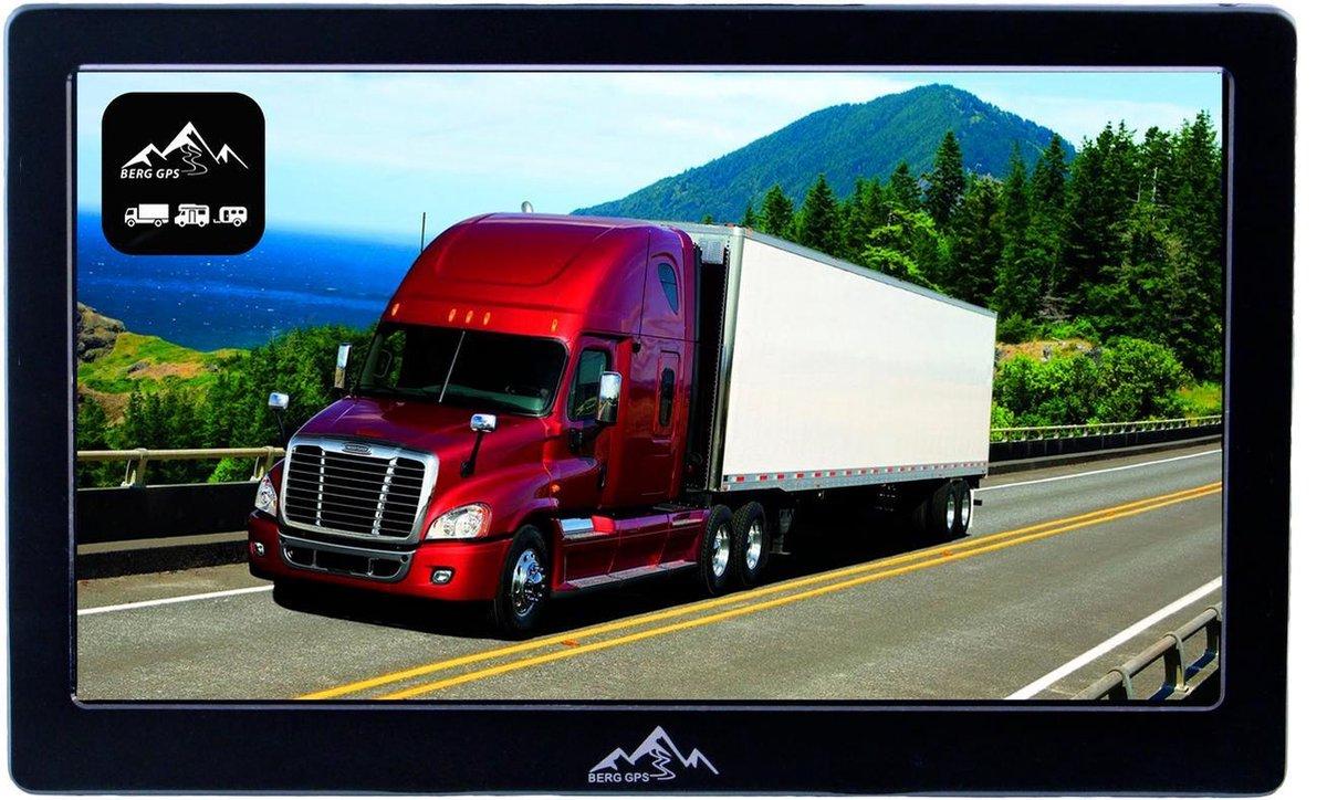 BergGPS - 7-inch TruckNavigatie - Vrachtwagen Bus Touringcar Navigatie - Bluetooth - Carkit- Europa