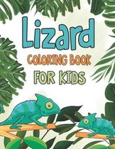 Lizard Coloring Book for Kids