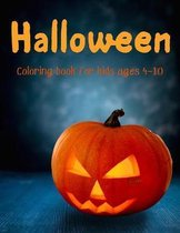 Halloween - Coloring book for kids ages 4 - 10
