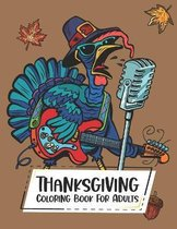 Thanksgiving Coloring Book For Adults