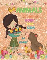 Animals Coloring Book for Kids 2-6 Years