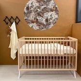 Cabino Baby bed Teresa met Verstelbare bodem Naturel 60 x 120 cm