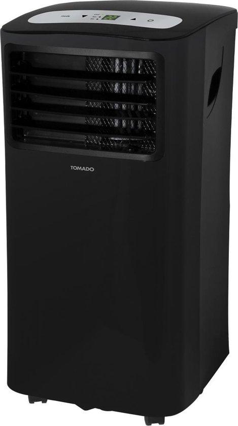 Tomado TMA9001B - Mobiele airco - 3 - in - 1 functie - timer - zwart