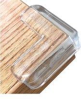 Baby tafelhoek beschermers | Inclusief plakstrips | 8 STUKS