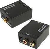 Digitaal Naar Analoog Audio Converter | Coaxiaal | SPDIF | DAC | D2A | Toslink Optische Lu