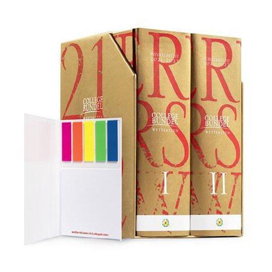 Boek cover Collegebundel 2021-2022 Limited Edition van Wolters Kluwer Nederland (Hardcover)