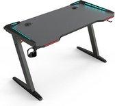 Game bureau Thomas led verlichting - gaming desk - 120 cm