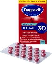 Dagravit Vitaal 50+ - Vitaminen, Mineralen en Planten - 100 tabletten