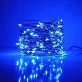 InstaLights - Fairy Lights - 40 LED´s - Blauw - Inclusief 2 AA Batterijen - LED Lampjes Slinger - Werkt op Batterijen - Lichtsnoer voor Binnen en Buiten