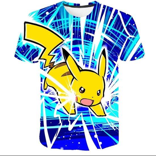 Pikachu / Pokemon/ T-shirt_maat 146