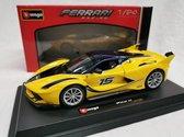 Ferrari FXX-K #15 Geel 1-24 Burago Racing