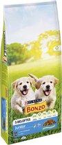 Bonzo Junior - Hondenvoer Kip, Melk & Groenten - 15 kg