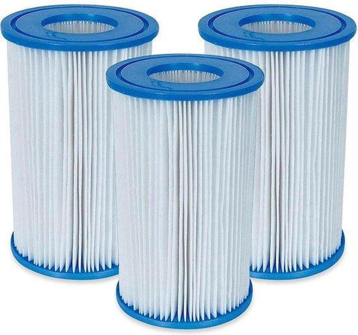 Intex - 6 waterfilterpatronen 'A'.