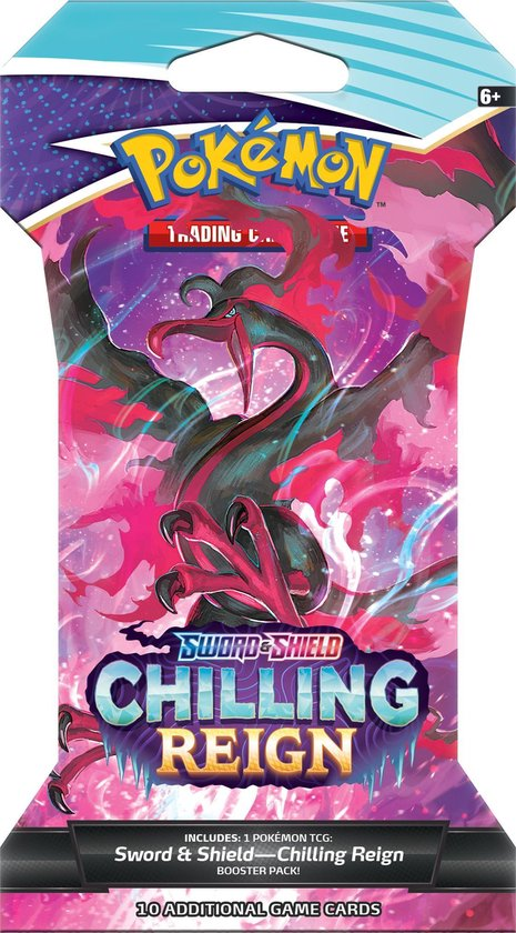 Pokémon Sword & Shield Chilling Reign Sleeved Booster - Pokémon Kaarten