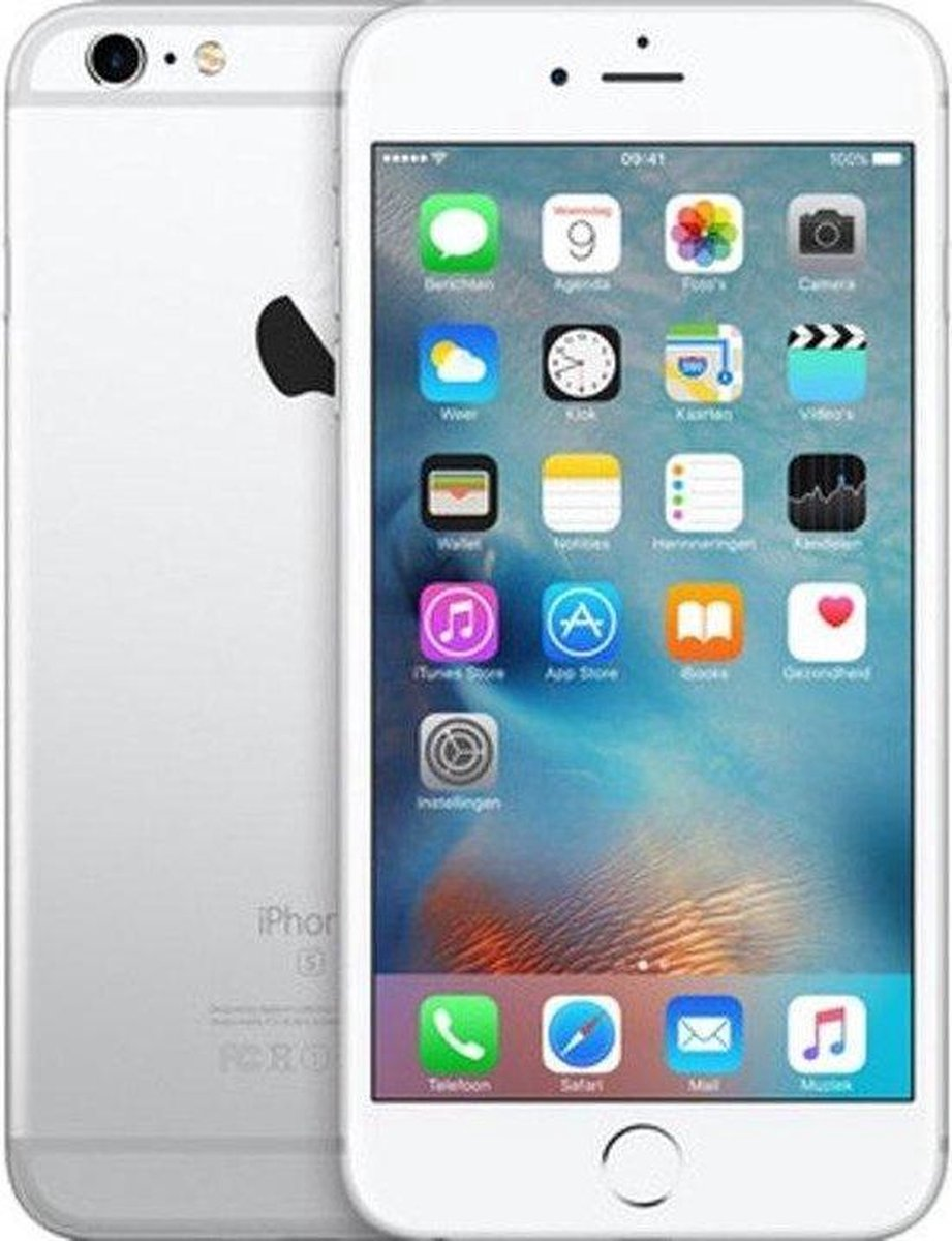 Apple iPhone 6s - Refurbished door Mr.@ - B grade (Zichtbare gebruikssporen) - 64GB - Zilver