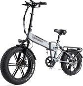 "Elektrische Fiets - Elektrische Fatbike - 500W 20 "" - 4.0 Fat tire Motor 48V 15A - Vouwfiets Compact - Elektrische Mountainbike - Lithiumbatterij 7 snelheden"