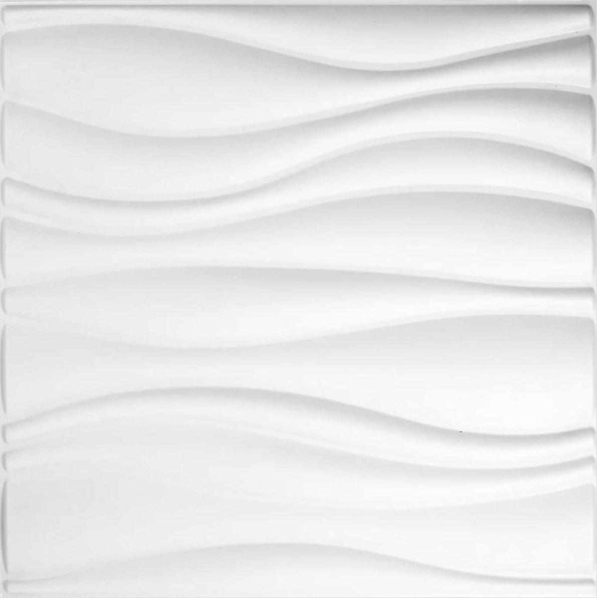 vidaXL 3D wandpanelen Waves 12-delig GA-WA04  VDXL_412818 - WallArt