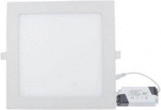 18w Led paneel - vierkant - inbouwspot - 6000K - Koud wit