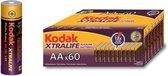 Kodak Alkaline Xtralife batterijen - 60 stuks-AA