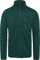 The North Face Canyonlands Full Zip Vest Heren - Night Green - Maat XS