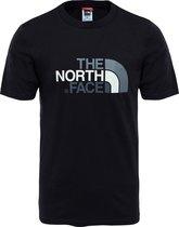The North Face S/s Easy Tee - Eu Outdoorshirt Heren - TNF Black