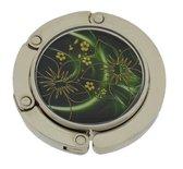 Treasure Trove® Abstracte Bloemen Tashaak - Accessoire Tas - Tas ophanger - Tashanger - Dames