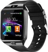 SAMMIT® Heren Smartwatch Zwart met StappenTeller- Met Meldingen- Met Belfunctie en Berichten- Intelligente Smartwatch Dames en Heren- Smartwatch Android en Iphone- Sporthorloge