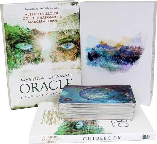 Boek cover Mystical Shaman Oracle Cards van Alberto Villoldo, PhD (Paperback)