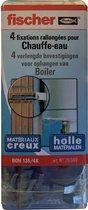 Fischer boilerbevestiging kit BOH135/4K 26049 met schroef 10x140mm en plug 135mm