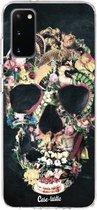 Samsung Galaxy S20 hoesje Vintage Skull Casetastic Smartphone Hoesje softcover case