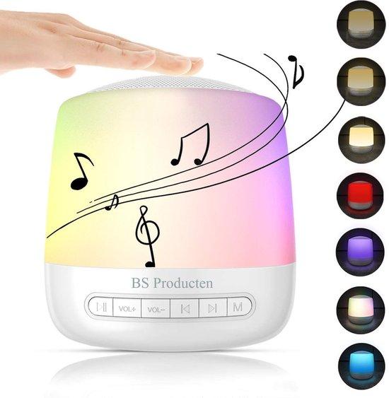 White Noise Machine - 28 Soorten Geluiden - Nachtlampje - Met Timer - Meerdere Kleuren - Witte Ruis - Witte Ruis Baby - Slapen - Nachtlamp