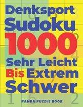 Denksport Sudoku 1000 Sehr Leicht Bis Extrem Schwer