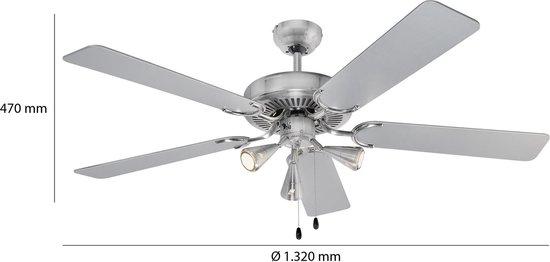 DVL 3078 plafondventilator met verlichting