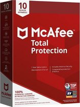 McAfee Total Protection - Nederlands - 10 Apparate
