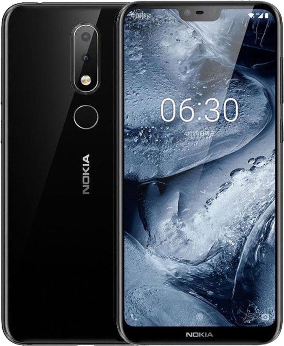Nokia 6.1 Plus - 64GB - Black - Dual Sim - (T-1116) kopen
