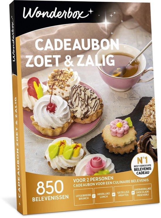 Wonderbox Cadeaubon - Zoet & zalig