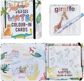 Floss & Rock Jungle - water kleur kaarten - 19 x 18 cm - Multi